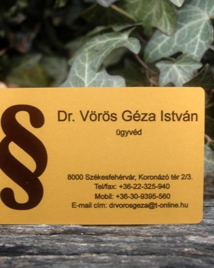 Dr. Vörös Géza